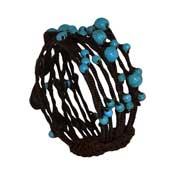 Turquoise Bead Twine Bracelet