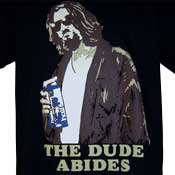 The Dude Abides Milk Shirt