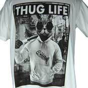 Thug Life Cat T-Shirt
