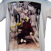 Yoda Hefner Playboy Mansion T-Shirt