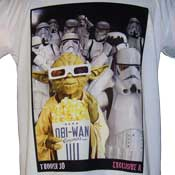 Yoda Stormtroopes 3D T-Shirt