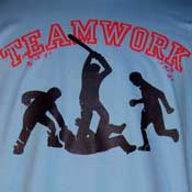 Teamwork Shirt Blue Green