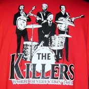 The Killers World Destruction Tour Shirt
